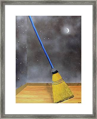 Cleaning Out The Universe Framed Print