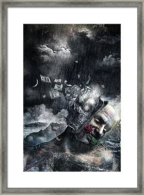 Cleanse Framed Print by Cameron Gray