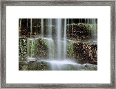 Cleanse Me Framed Print by Az Jackson