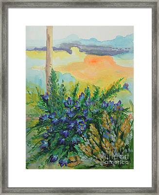 Cleansed Framed Print by Holly Carmichael