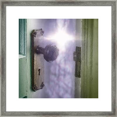 Cleansing The Door Of Perception Framed Print
