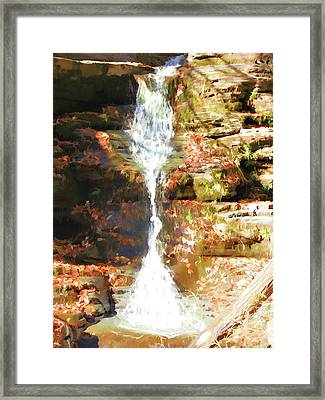 Clear And Clean Framed Print by Lanjee Chee