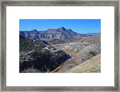Clear And Rugged Framed Print by Gary Kaylor