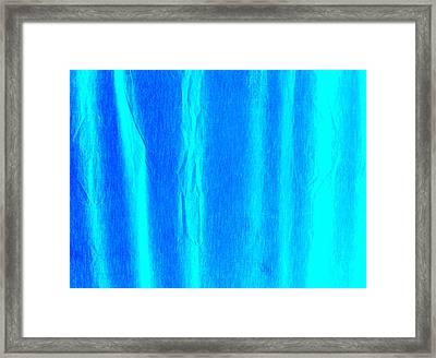 Clear Blue Waves Framed Print by James Mikkelsen