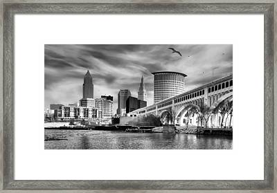 Clear For Takeoff Framed Print by Mahalograph                                        Photography
