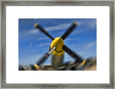 Clear Prop Framed Print by Steven Richardson
