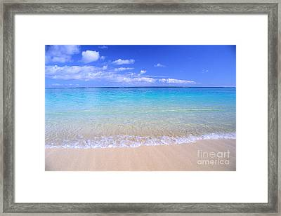 Clear Shoreline Framed Print by Bill Brennan - Printscapes