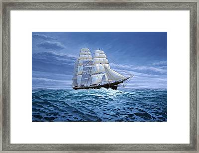 Clear Skies Ahead Framed Print