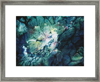 Clear Streams Framed Print by Shirley McMahon