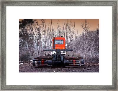 Framed Print featuring the photograph Clear The Way by Tim Nichols
