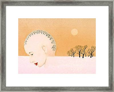 Clear Thought Framed Print by Tara Peterson