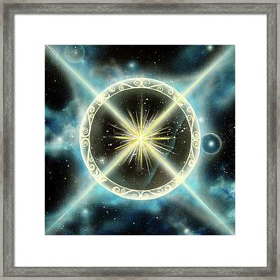 Clear View Framed Print by Deborah Wright