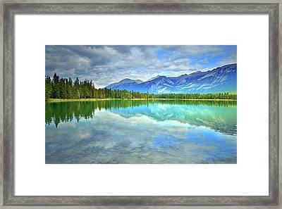 Framed Print featuring the photograph Clear Waters At Lake Annette by Tara Turner