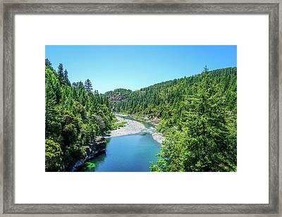 Clear Waters Framed Print by Ric Schafer