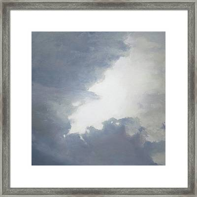 Clearing Framed Print by Cap Pannell