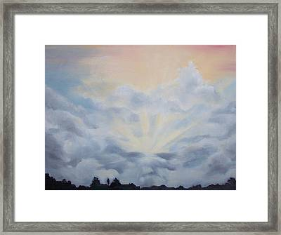 Clearing Framed Print by Irene Corey