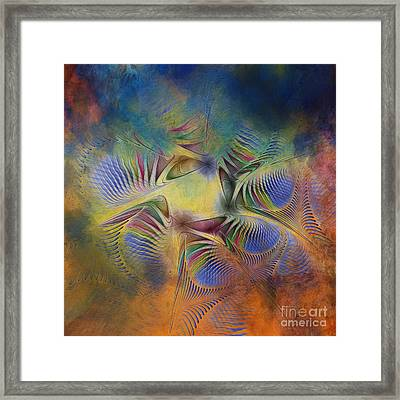 Clearing Of The Storm Framed Print