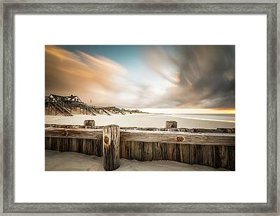 Clearing Out The Rain Framed Print by Ivo Kerssemakers