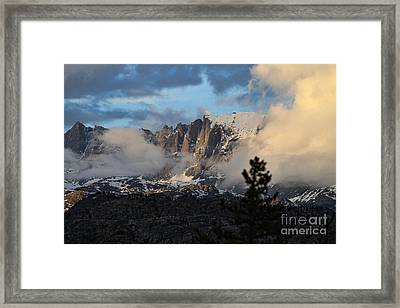 Clearing Rain Framed Print by Edward R Wisell