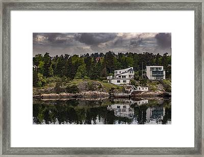 Clearing Skies Framed Print by Capt Gerry Hare