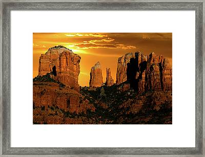 Clearing Skies Framed Print by Mikes Nature