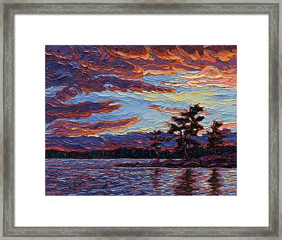 Clearing Skies Framed Print by Rob MacArthur