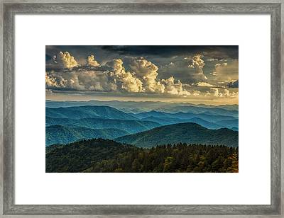 Clearing Storm Clouds Framed Print by Andrew Soundarajan