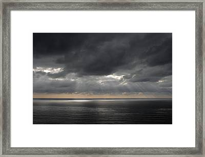 Clearing Storm Framed Print