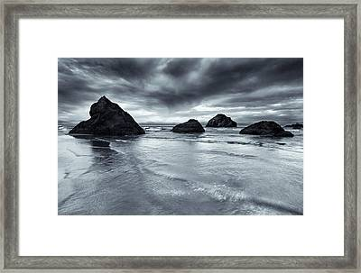 Clearing Storm Framed Print by Mike  Dawson