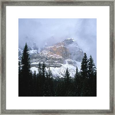 Clearing Storm Framed Print by Sandra Bronstein