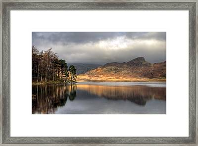 Clearing Weather At Blea Tarn Framed Print by Terry Roberts Photography