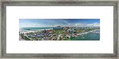 Framed Print featuring the photograph Clearwater Beach Florida by Steven Sparks