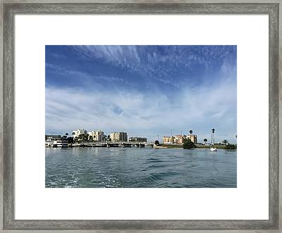 Clearwater Florida Framed Print by Aimee L Maher Photography and Art Visit ALMGallerydotcom