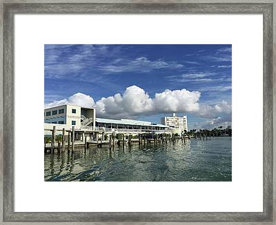 Clearwater Marine Aquarium Seaside Framed Print by Aimee L Maher Photography and Art Visit ALMGallerydotcom