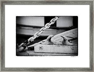 Cleat Framed Print