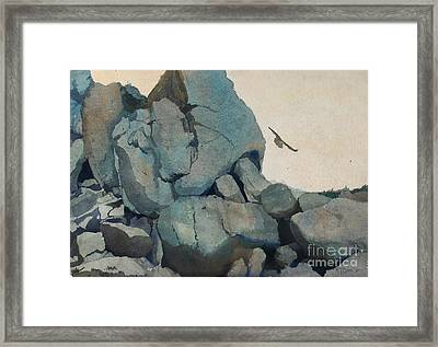 Cleft For Me Framed Print