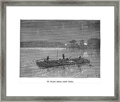 Clemens: Tom Sawyer Framed Print by Granger