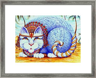 Cleocatra Framed Print