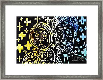 Clergy Family Framed Print