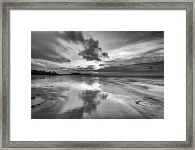 Clevedon Beach Framed Print by Don Hooper