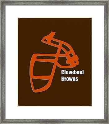 Cleveland Browns Retro Framed Print