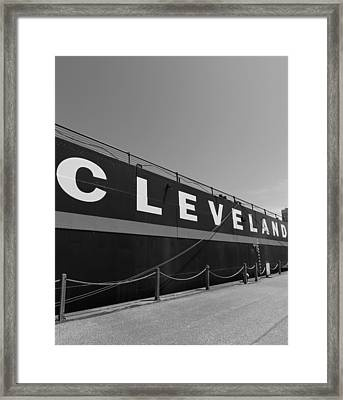 Cleveland Framed Print by Dan Sproul