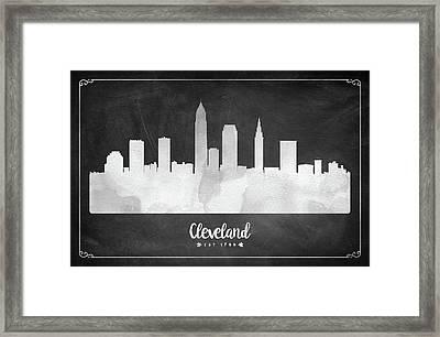 Cleveland Est 1796 - Usohcl03 Framed Print