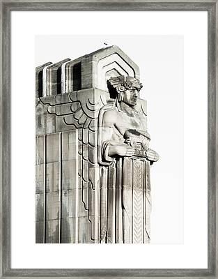 Cleveland Icon Framed Print