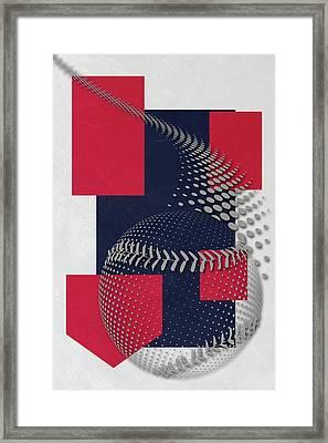 Cleveland Indians Art Framed Print