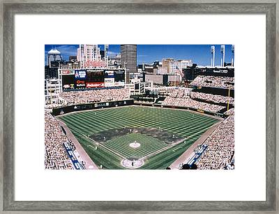 Cleveland: Jacobs Field Framed Print by Granger