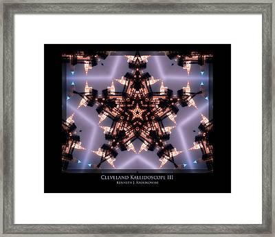 Cleveland Kaleidoscope IIi Framed Print by Kenneth Krolikowski