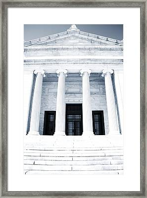 Cleveland Museum Of Art Framed Print by Dan Sproul