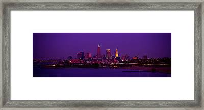Cleveland Oh Framed Print by Panoramic Images
