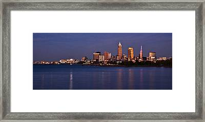 Cleveland Ohio Framed Print
